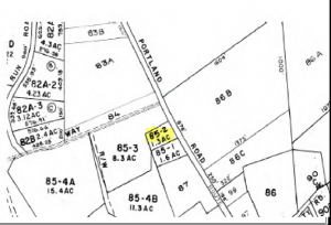Commercial Lot For Sale in Bridgton